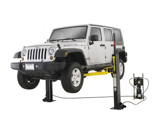 Automotive Lift Equipment : Maxjax home garage lift portable post car lifts