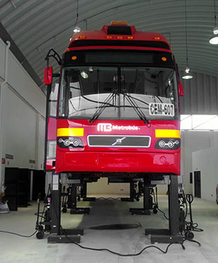 BendPak's Mobile Column Lift System