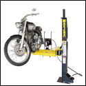 The MaxJax can also be used as a Motorcycle Lift